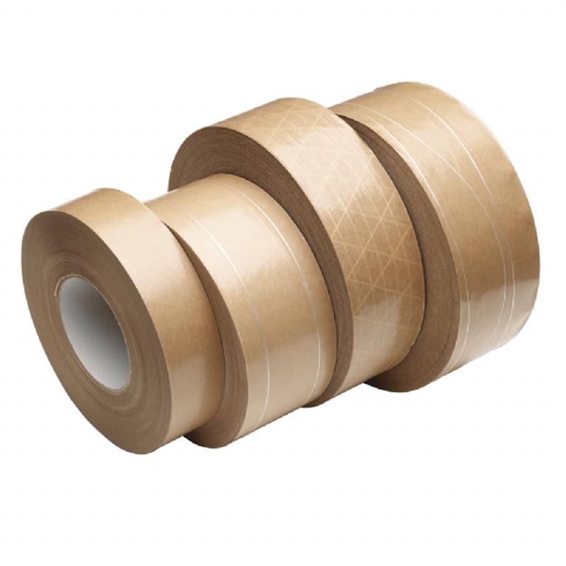 70mm Versterkt Papier Tape Bruin