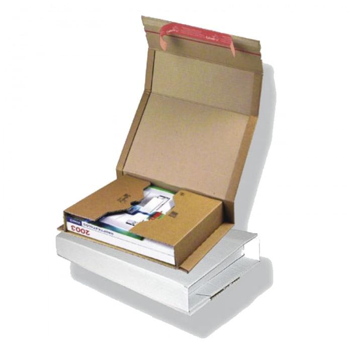 Boekverpakking 147 x 126 x 55 mm