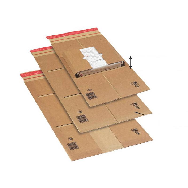 Boekverpakking 350 x 320 x 80 mm