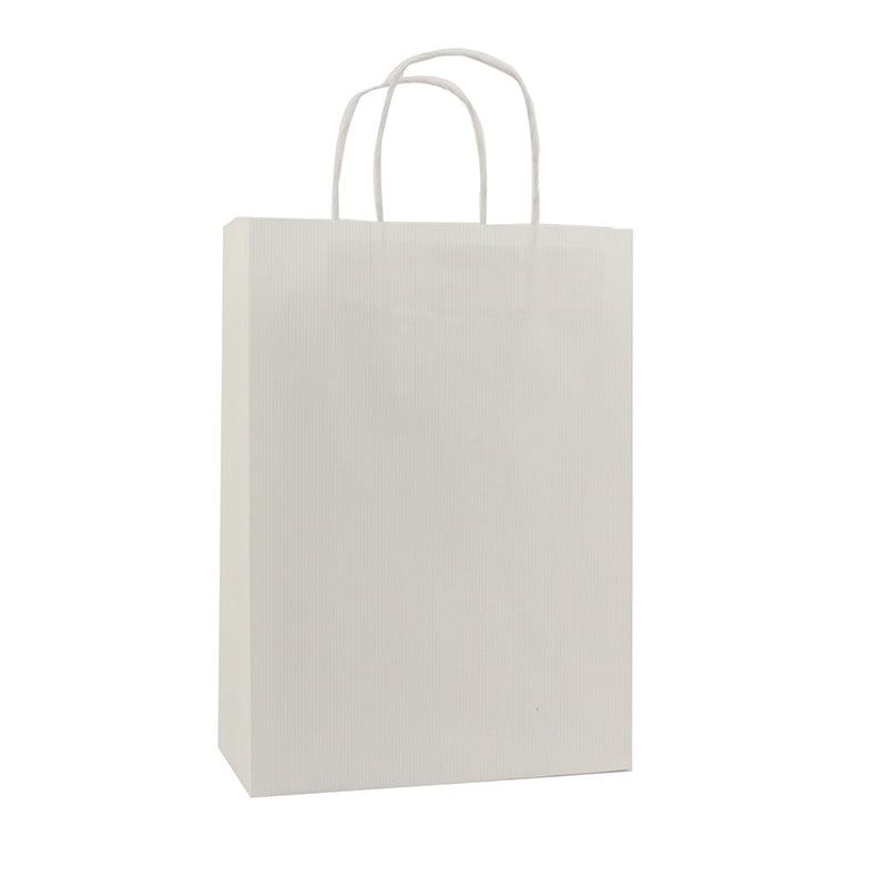 Basic Papieren Tas Deluxe - Wit