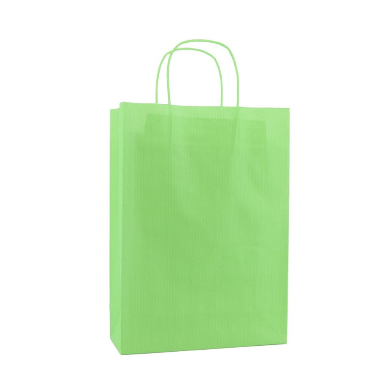 Basic Papieren Tas Deluxe - Groen