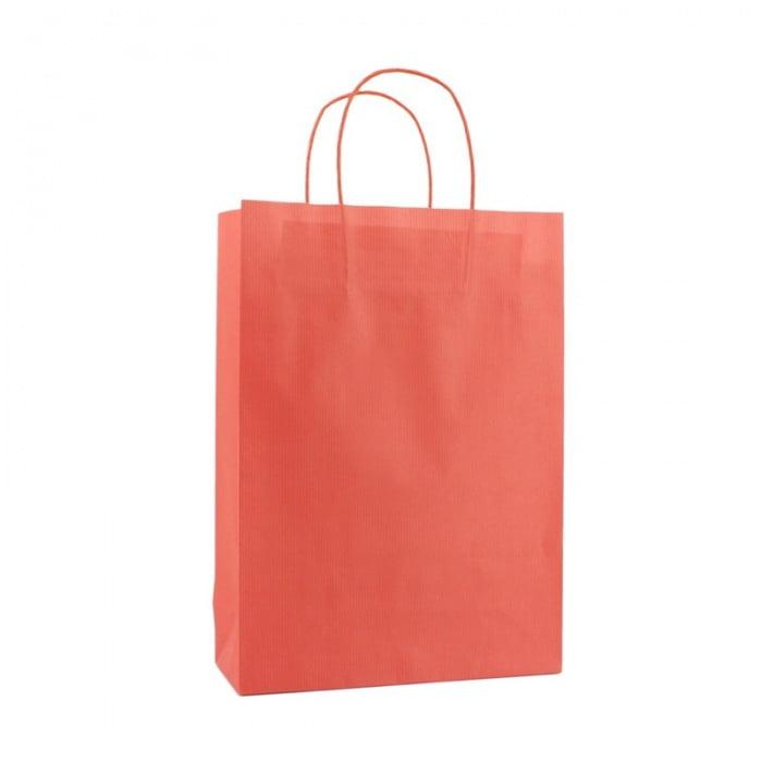Basic Papieren Tas Deluxe - Rood