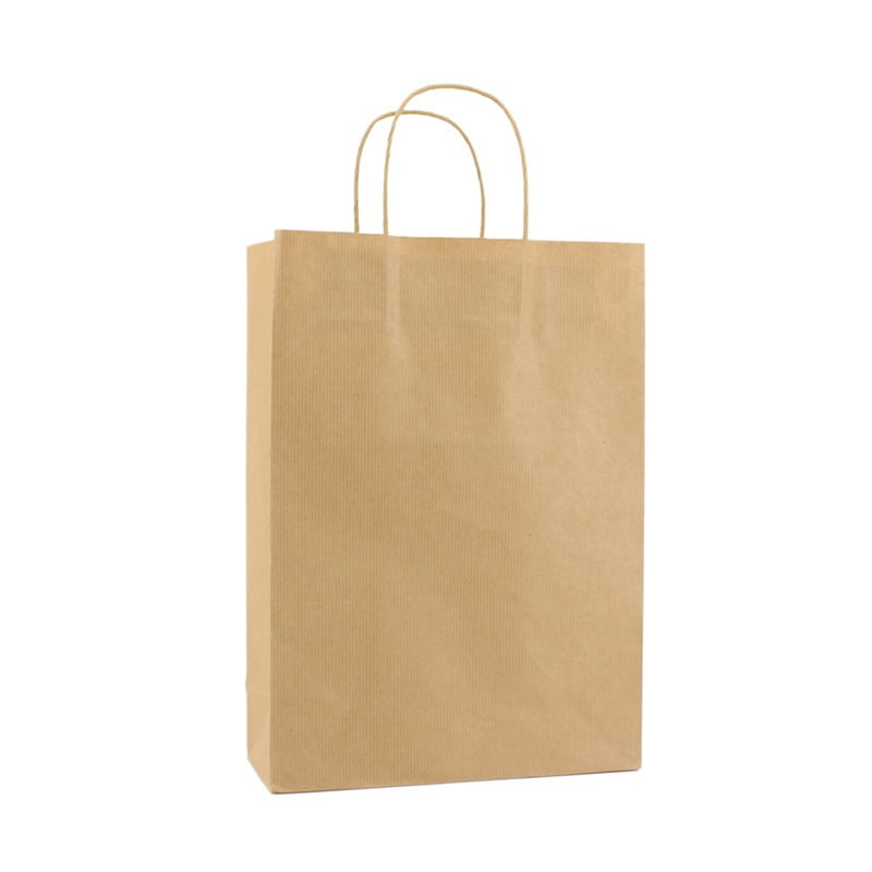 Basic Papieren Tas Deluxe - Bruin