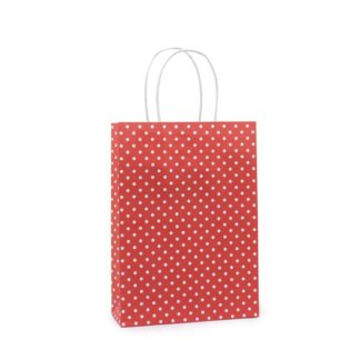 Basic Papieren Tas - Polka Dessin