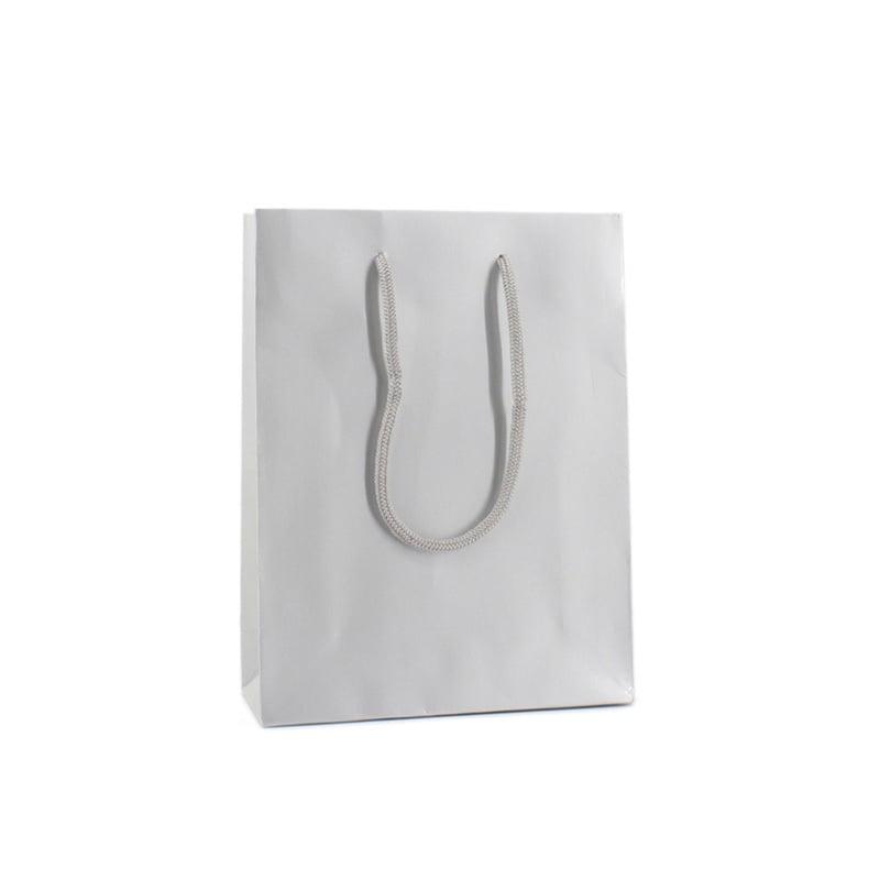 Luxe Papieren Tas - Zilver