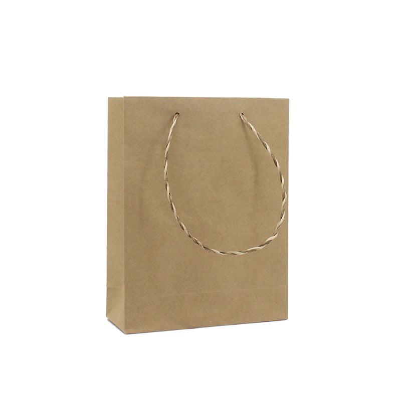 Gerecyclede Papieren Kraft Tas - Bruin