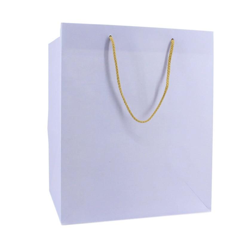 Luxe Papieren Kraft Tas - Lila