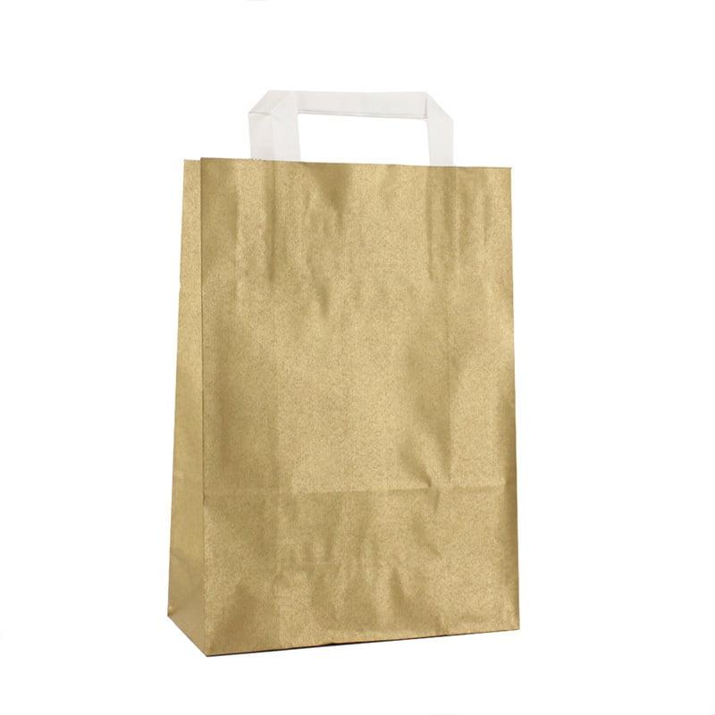 Budget Papieren Tas - goud