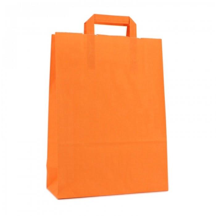 Budget Papieren Tas - Oranje