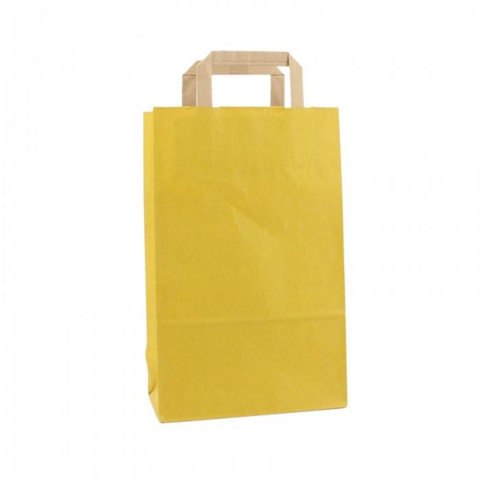 Budget Papieren Tas - Geel
