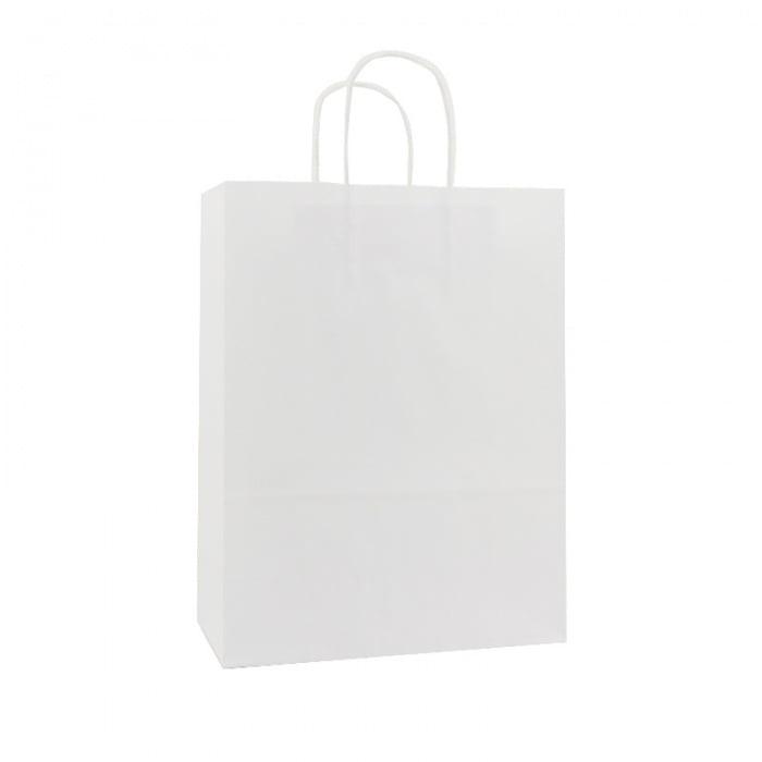 Basic Papieren Tas - Wit