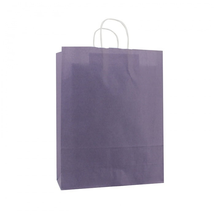 Basic Papieren Tas - Parachute Purple
