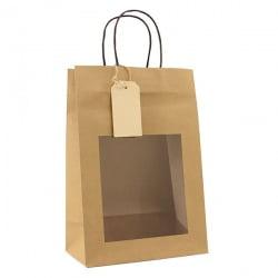 Papieren Cadeautas - Bruin